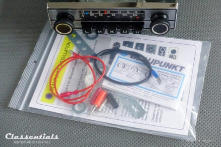 Blaupunkt Frankfurt 1971 Vintage Original High-End Auto Radio for Alfa Romeo, Aston Martin, Lancia, Jaguar, Peugeot, Triumph & Others 1968 - 1972