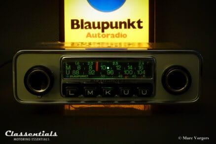 Blaupunkt Frankfurt 1972 Vintage Original High-End Classic Car Auto Radio for Alfa Romeo Giulia, Volvo P1800 and Other Classics, 1968 - 1973