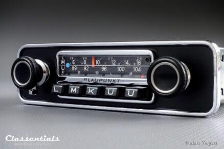 Blaupunkt Frankfurt 1972 Vintage Original High-End Classic Car Auto Radio for Alfa Romeo Giulia, Volvo P1800, 1800 E, ES and Other Classics, 1968 - 1973