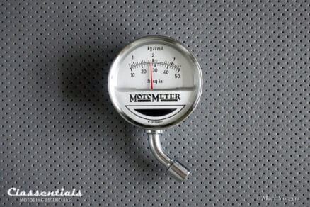 Vintage Original MotoMeter 1950s - 1960s Tyre Pressure Meter / Gauge - EXCELLENT - in Original Pouch
