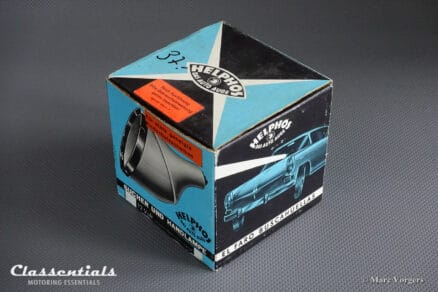 "RARE Vintage Original 1960s Version Black HELPHOS Search Lamp ""Das Auto Auge"" With Windscreen Suction Mount - IN ORIGINAL BOX!"