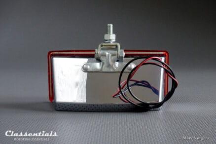 VERY RARE Vintage Original late 1960s / 1970s HELLA NES 400 Chrome Rear Fog Light / Lamp, NEW in Box!