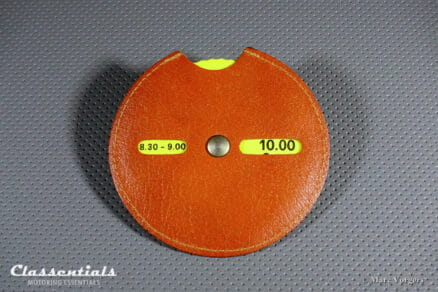 Vitage Car Parking-Disc for FIAT Cars Issued by Succursale Fiat, Varese Italy