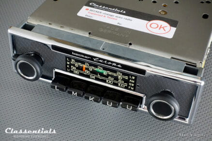 Becker EUROPA LMKU 1968 Vintage Original High-End Classic Car Auto Radio, Mercedes-Benz and Other Exclusive Cars 1968 - 1976