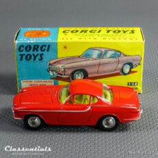 1960s Corgi Toys Volvo P 1800 in Rare Red #228 - Very Near MINT - collectors item
