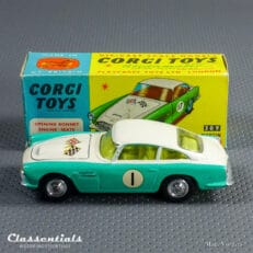 1960s Corgi Toys Aston Martin DB4 Competition Model Number one 1 309 open air-scoop Very Near MINT collectors item
