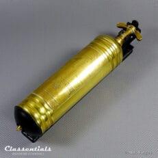 Vintage Original Brass MERRYWEATHER Pyrene London Fire Extinguisher, Pre-War Car Accessory Alvis, Bentley, MG, Lagonda, Talbot