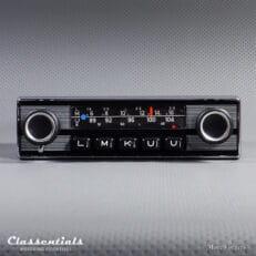 Blaupunkt Frankfurt 1972 Vintage Original High-End Auto Radio for Alfa Romeo, Aston Martin, Lancia, Jaguar, Peugeot, Triumph & Others 1968 - 1972 - Including Classentials Deluxe Bluetooth module!