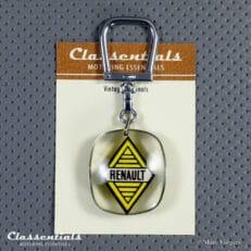 Vintage Original 1950 - 1960 Bourbon RENAULT Key Ring - EXCELLENT Collectors Item schlusselanhanger sleutelhanger porte cle cles chiavi